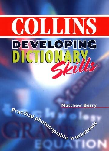 9780003221152: New Collins School Dictionary: Developing Dictionary Skills Pack