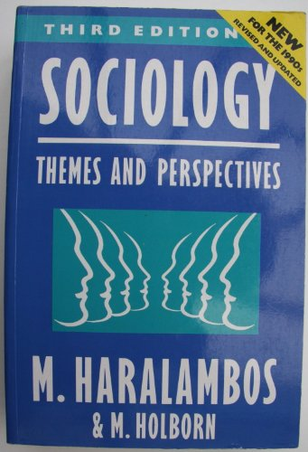 9780003222357: Sociology: Themes and Perspectives