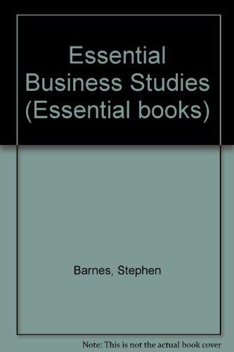 9780003222647: Essential Business Studies (Essential books)