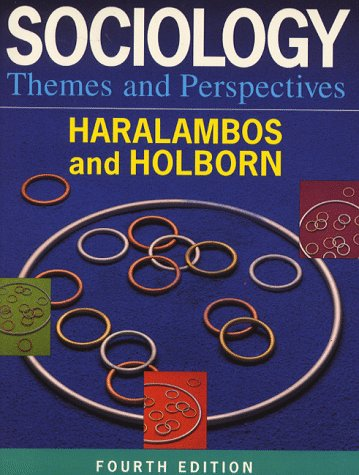 9780003223163: Sociology Themes and Perspectives