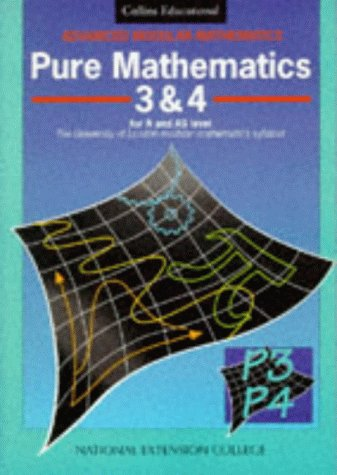 9780003223965: Advanced Modular Mathematics - Pure Mathematics 3-4: v. 3 & 4