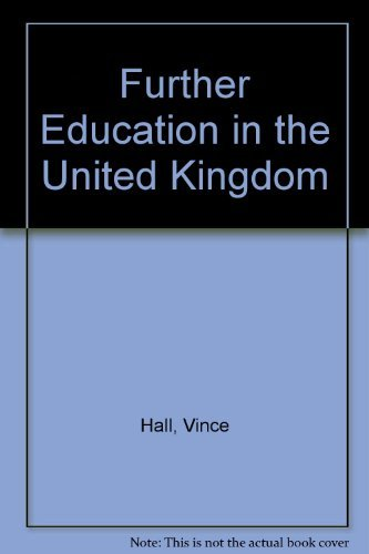 9780003224030: Further Education in the United Kingdom