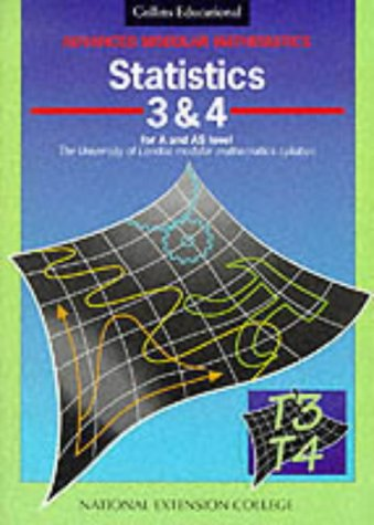 9780003224160: Advanced Modular Mathematics - Statistics 3-4: Vol 3