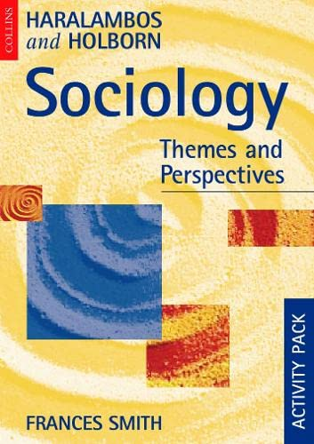 9780003224757: Sociology Themes and Perspectives Activity Pack