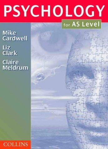 9780003224764: Psychology - Psychology for AS-Level