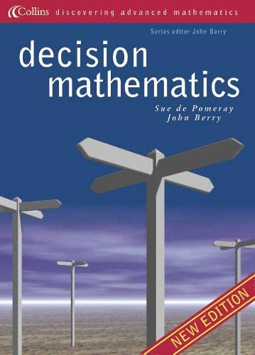9780003224818: Decision Mathematics (Discovering Advanced Mathematics)
