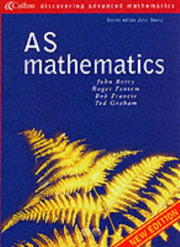 9780003225020: Discovering Advanced Mathematics - AS Mathematics