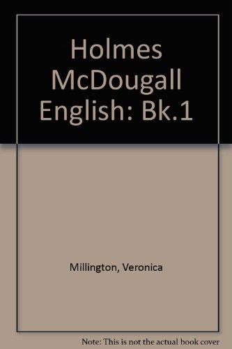 9780003230307: Holmes McDougall English: Bk.1