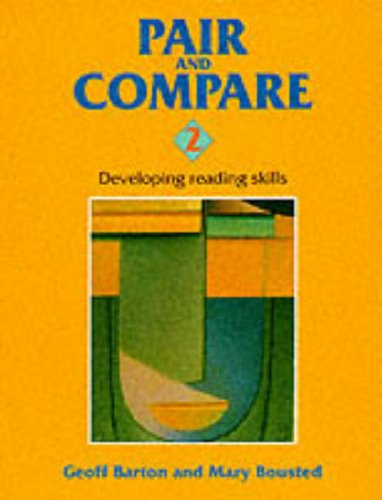 9780003230437: Pair and Compare 2: Developing Reading Skills at Key Stage 4