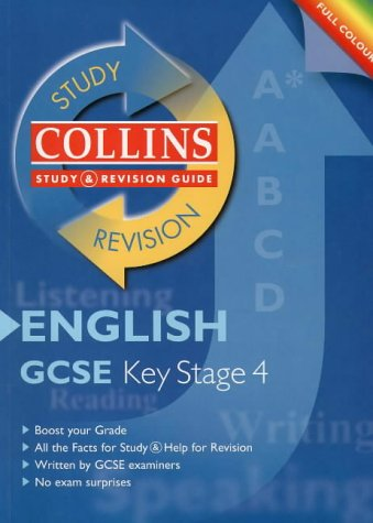 9780003235043: Collins Study and Revision Guides - GCSE English (Collins Study & Revision Guides)