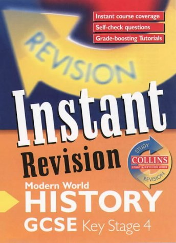 9780003235128: Instant Revision - GCSE Modern World History: Instant Revision Cards (Collins Study & Revision Guides)