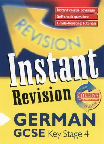9780003235135: Instant Revision - GCSE German: Instant Revision Cards (Collins Study & Revision Guides)