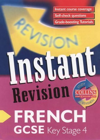 9780003235142: Instant Revision - GCSE French: Instant Revision Cards (Collins Study & Revision Guides)