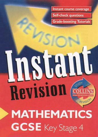 9780003235166: GCSE Mathematics: Instant Revision Cards (Collins Study & Revision Guides)