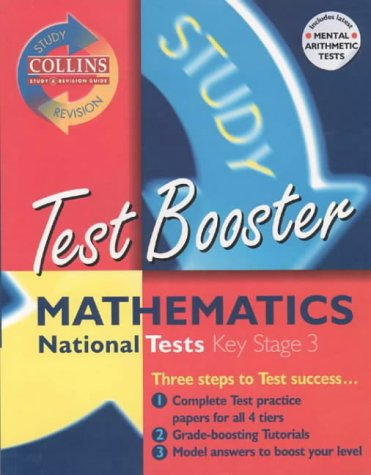 9780003235203: Collins Study and Revision Guides - KS3 Mathematics Test Booster (Collins Study & Revision Guides)