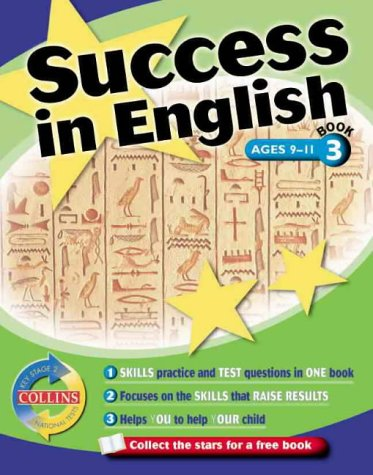 9780003235296: Collins Study and Revision Guides: Key Stage 2 Success in English: Book 3