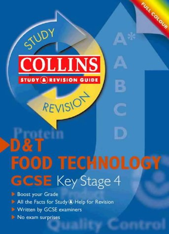 9780003235395: GCSE Design and Technology: Food Technology (Collins Study & Revision Guides)