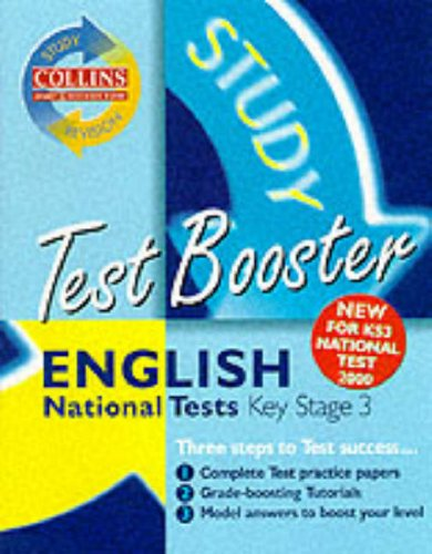 9780003235432: Collins Study and Revision Guides - KS3 English Test Booster (Collins Study & Revision Guides)