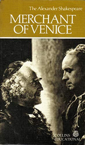 9780003252514: Merchant of Venice (The Alexander Shakespeare)
