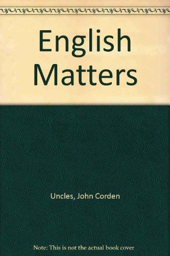 9780003253146: English Matters
