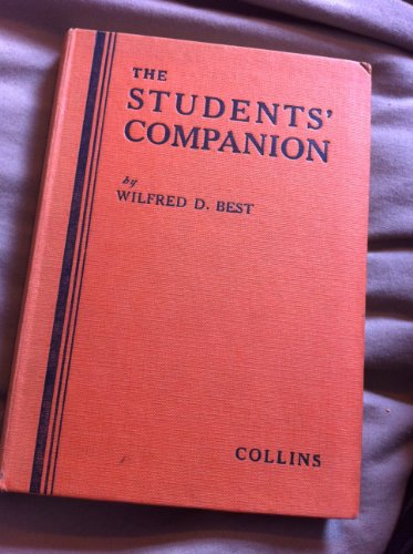 9780003262018: Student's Companion