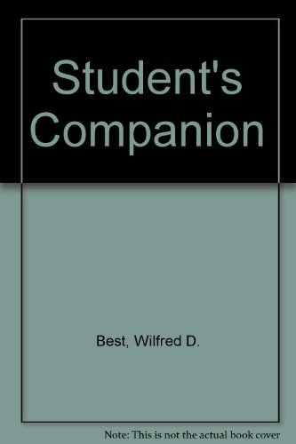 9780003262209: Student's Companion