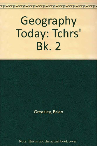 9780003266092: Geography Today: Tchrs' Bk. 2