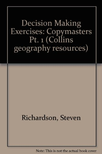 9780003266252: Decision Making Exercises: Copymasters Pt. 1
