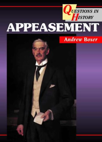 9780003271256: Appeasement (Questions in History)