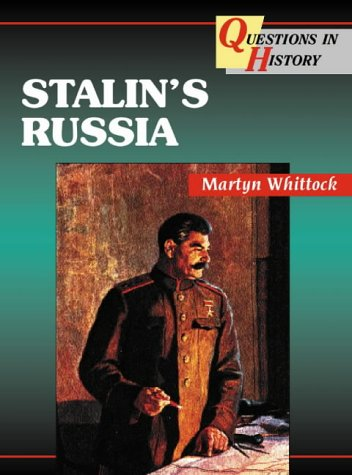 9780003272772: Questions in History - Stalin's Russia