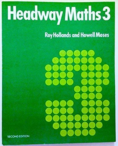 9780003273113: Headway Mathematics: Bk. 3 (Headway maths)