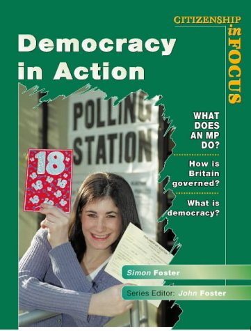 9780003273458: Democracy in Action (Citizenship in focus)