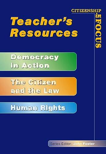 9780003273489: Citizenship in Focus: Teacher's Resources