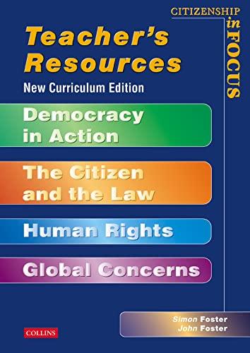 9780003273632: Citizenship in Focus: Teacher's Resource