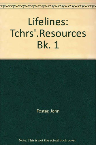 9780003274042: Lifelines: Tchrs'.Resources Bk. 1 (Lifelines Series)