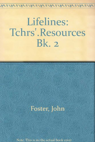 9780003274059: Lifelines: Tchrs'.Resources Bk. 2 (Lifelines Series)