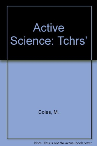 9780003274561: Active Science: Tchrs'