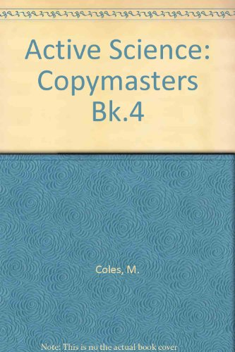 9780003274684: Active Science: Copymasters Bk.4