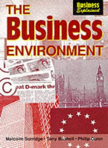9780003274806: The Business Environment (Business Explained)