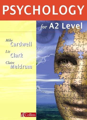 9780003275063: Psychology for A Level