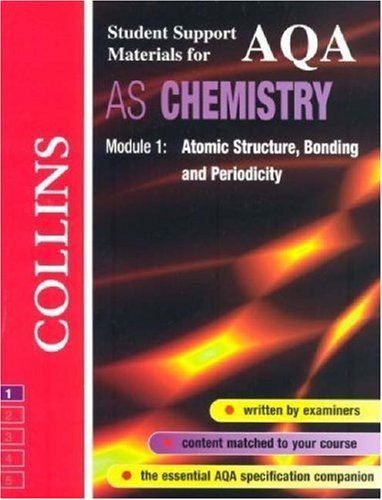 9780003277012: AQA (A) Chemistry: Atomic Structure, Bonding and Periodicity (Collins Student Support Materials)