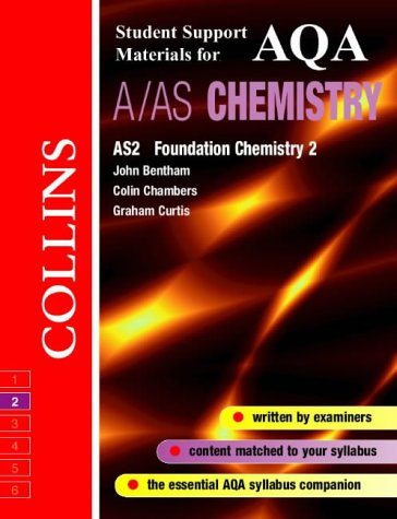 9780003277029: AQA (A) Chemistry AS2: Foundation Physical and Inorganic Chemistry (Collins Student Support Materials)