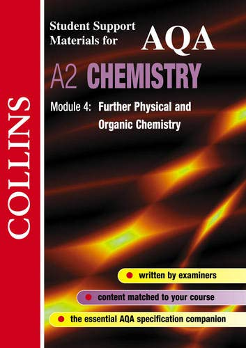 9780003277043: Collins Student Support Materials - AQA Chemistry: Further Physical and Organic Chemistry