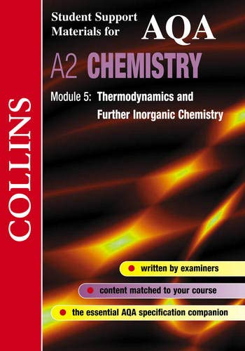 9780003277050: Collins Student Support Materials - AQA Chemistry: Thermodynamics and Further Inorganic Chemistry