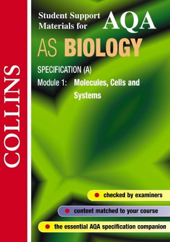 9780003277067: Collins Student Support Materials - AQA (A) Biology: Molecules, Cells and Systems