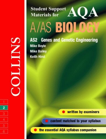 9780003277104: AQA (B) Biology: Genes and Genetic Engineering (Collins Student Support Materials)