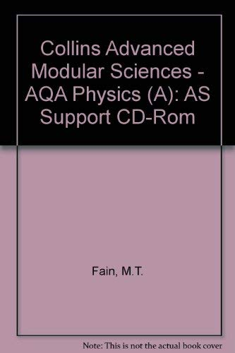 9780003277227: Collins Advanced Modular Sciences - AQA Physics (A): AS Support CD-Rom