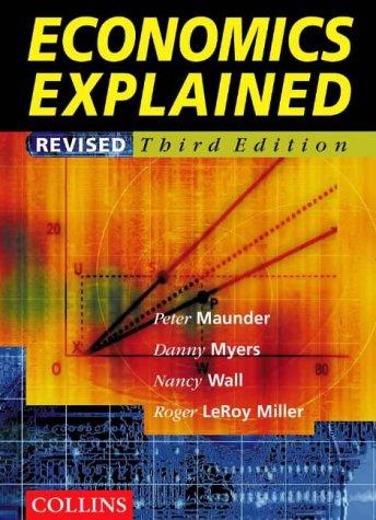 9780003277586: Economics Explained 3rd Ed.