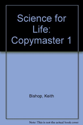 9780003277883: Science for Life: Copymaster 1