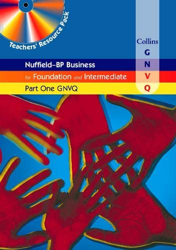 9780003291186: Nuffield Business for Part One GNVQ: Teachers' Resource Pack (Collins Business GNVQ)
